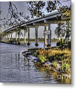 Cappy's By Water Metal Print