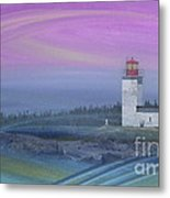 Capricious Lighthouse... Metal Print