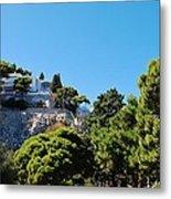 Capri's Gardens Metal Print