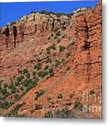 Caprock Canyon 3 Metal Print