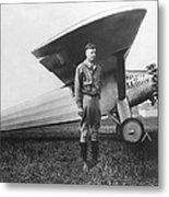 Captain Charles Lindbergh Metal Print