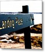 Captain Cooks Landing Place Metal Print