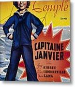 Captain January Aka Capitaine Janvier Metal Print