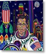Captain Mitt Romney - American Dream Warrior Metal Print by Robert SORENSEN