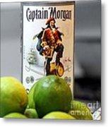 Captain Morgan Metal Print
