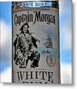 Captain Morgan White Rum Metal Print