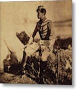 Captain Thomas, Aide-de-camp To General Bosquet Metal Print