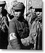 Captured Chinese Soldier Metal Print