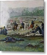 Capturing The Flag-picketts Charge Metal Print
