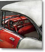 Car - Classic 50's  Metal Print by Mike Savad
