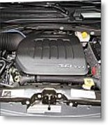 Car Engine Metal Print