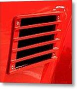 Car Reflection 10 Metal Print