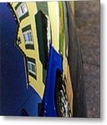 Car Reflection 6 Metal Print