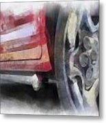Car Rims 02 Photo Art 01 Metal Print