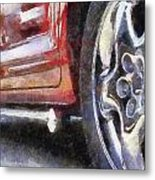 Car Rims 02 Photo Art 02 Metal Print