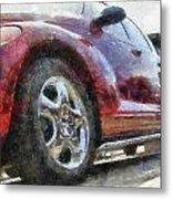 Car Rims 04 Photo Art 02 Metal Print
