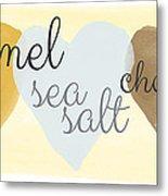 Caramel Sea Salt And Chocolate Metal Print