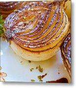 Caramelized Balsamic Onions Metal Print