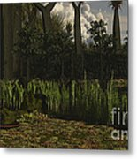 Carboniferous Forest Of The Eastern Metal Print