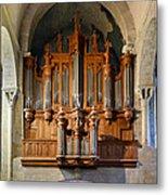 Carcassonne Organ Metal Print