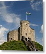 Cardiff Castle Keep Metal Print