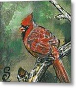 Cardinal 1 Metal Print