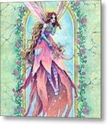 Cardinal Fairy Metal Print