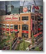 Cardinals Nation Ballpark Village Dsc06176 Metal Print