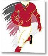 Cardinals Shadow Player2 Metal Print