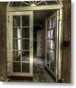 Care Home Arch Metal Print