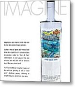 Carey Chen Big Chill Vodka By Jimmy Johnson Metal Print