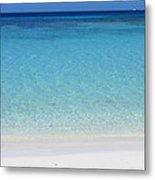 Caribbean Blues Metal Print