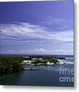 Caribbean Breeze Five Metal Print