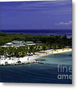 Caribbean Breeze Ten Metal Print