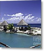 Caribbean Breeze Three Metal Print