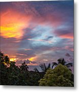 Caribbean Colors Metal Print