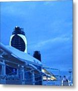 Caribbean Cruise - On Board Ship - 1212100 Metal Print