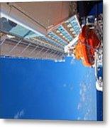 Caribbean Cruise - On Board Ship - 1212112 Metal Print