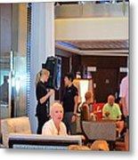 Caribbean Cruise - On Board Ship - 1212115 Metal Print