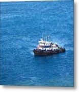 Caribbean Cruise - On Board Ship - 1212137 Metal Print