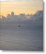 Caribbean Cruise - On Board Ship - 1212146 Metal Print