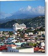 Caribbean Cruise - On Board Ship - 1212147 Metal Print