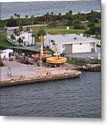 Caribbean Cruise - On Board Ship - 121215 Metal Print