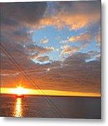 Caribbean Cruise - On Board Ship - 1212176 Metal Print