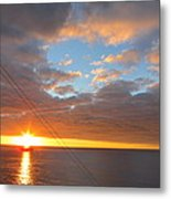 Caribbean Cruise - On Board Ship - 1212177 Metal Print