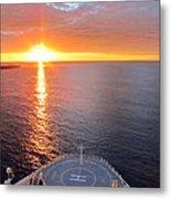 Caribbean Cruise - On Board Ship - 1212185 Metal Print