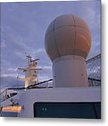 Caribbean Cruise - On Board Ship - 1212206 Metal Print