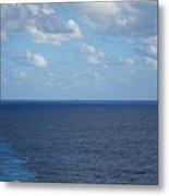 Caribbean Cruise - On Board Ship - 1212214 Metal Print