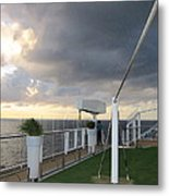 Caribbean Cruise - On Board Ship - 1212215 Metal Print