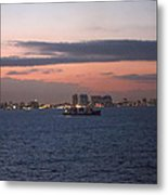 Caribbean Cruise - On Board Ship - 121231 Metal Print
